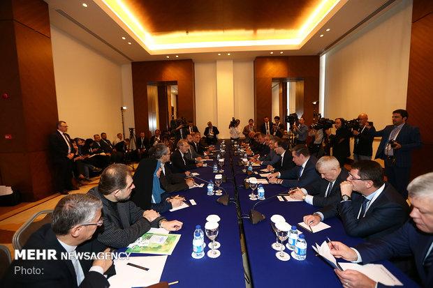 Larijani's meeting with Russia's Volodin in Turkey