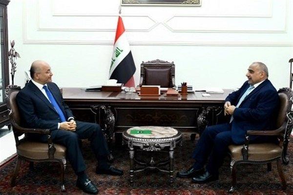 Berhem Salih ile Adil Abdülmehdi'den önemli görüşme