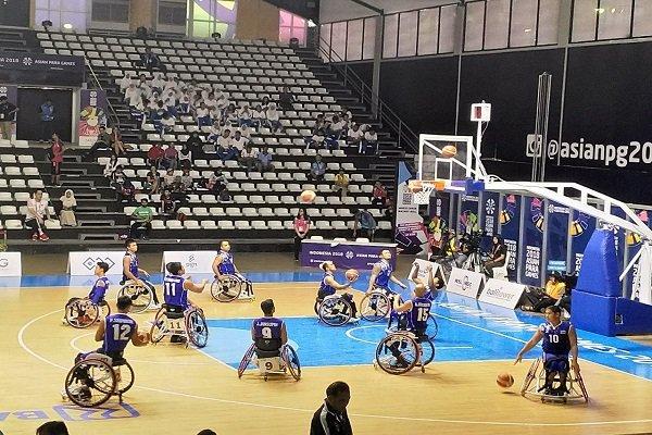 راهیابی تیم ملی بسکتبال با ویلچر مردان به فینال