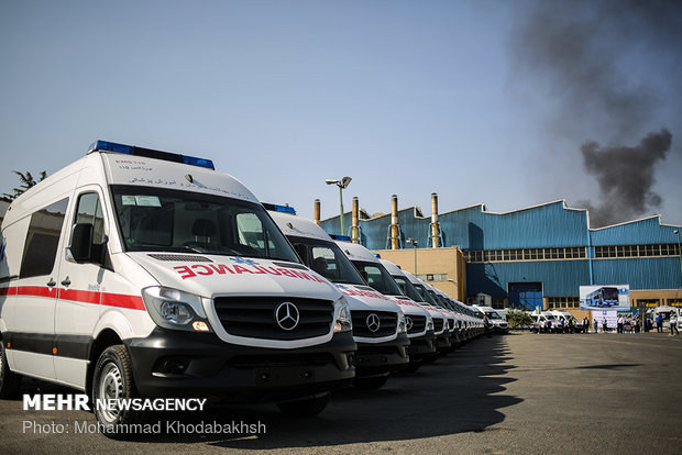 Inauguration ceremony of 400 ambulances