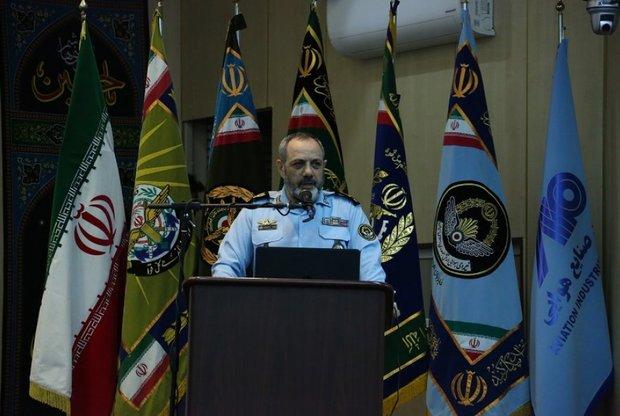 قائد سلاح الجو يدعو إلى تأسيس مجلس أعلى للملاحة الجوية في إيران