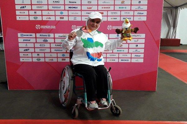 گزارش خبرنگار مهر از اندونزی؛ طلای پرتاب دیسک به هاشمیه متقیان رسید/ یک رکورد دیگر برای ایران
