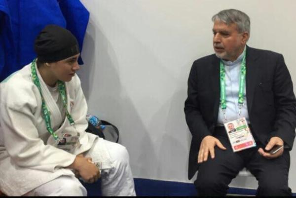 مقصر حذف دختر ایرانی در المپیک کیست؟/ اتهام رئیس و دفاع کمیته