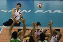 ايران تتوج بذهبية الكرة الطائرة جلوس في دورة الالعاب البارآسيوية