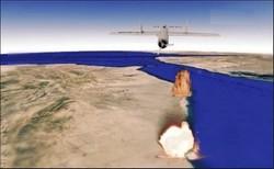 """طائرة يمنية تقصف قاعدة الملك خالد الجوية بصاروخ """"قاصف١"""""""