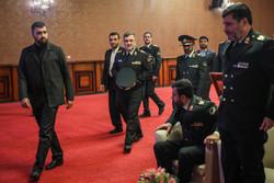نشست سفرای کشورهای خارجی با فرمانده ناجا