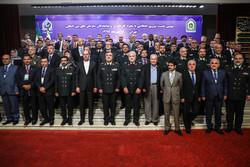 لقاء قائد الشرطة الايراني والسفراء الأجانب المقيمين في طهران /صور
