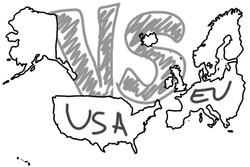 اروپا در مقابل آمریکا