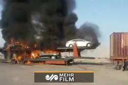 فلم/ ڈیلکس گاڑیوں میں آگ لگ گئی