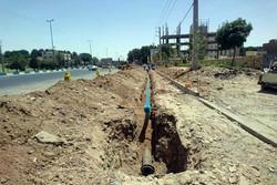 اصلاح و نوسازی ۵ هزار متر از شبکه توزیع شهری در ورامین