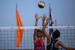 مسابقات بین المللی والیبال ساحلی در بندرعباس برگزار می شود