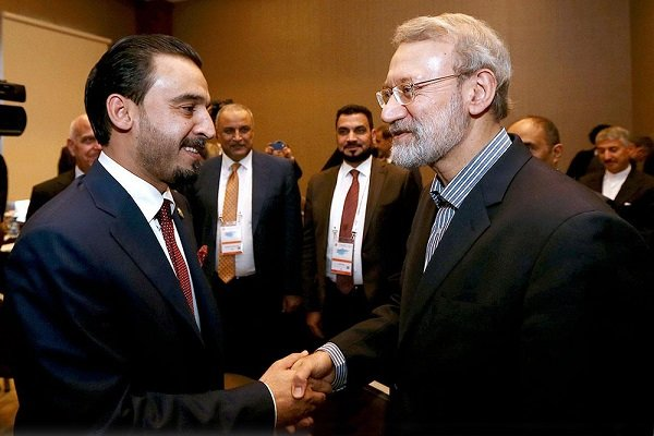 Iran always ready for economic, security coop. with Iraq: Larijani