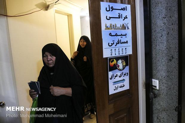 ۳۱ دفتر به اتباع خارجی اصفهان برای سفر به اربعین خدمات می دهند