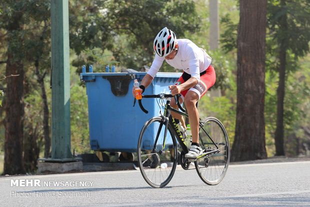 آخرین مرحله لیگ دوچرخه سواری جوانان کشور در تهران