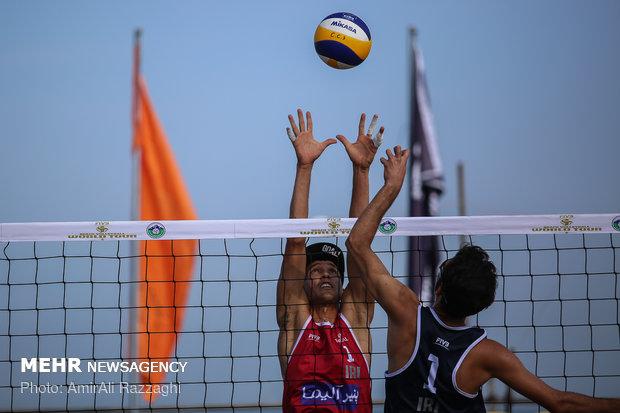 والیبال ساحلی, مسابقات قهرمانی جهان, مرحله حذفی