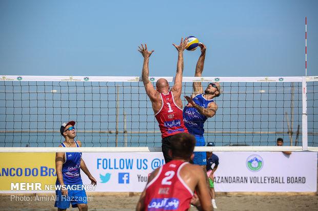 اولین دوره از مسابقات والیبال ساحلی در سیریک برگزار شد