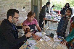 بلیران میں مفت طبی امداد کی فراہمی