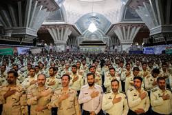 """تجدید میثاق"""" ناجا"""" با آرمانهای امام خمینی(ره)"""