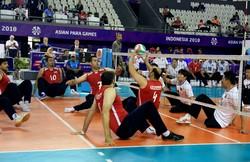 پیروزی تیم ملی والیبال نشسته ایران مقابل کامبوج