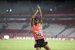 دوومیدانی کاران نابینای همدان در رقابتهای قهرمانی کشور درخشیدند