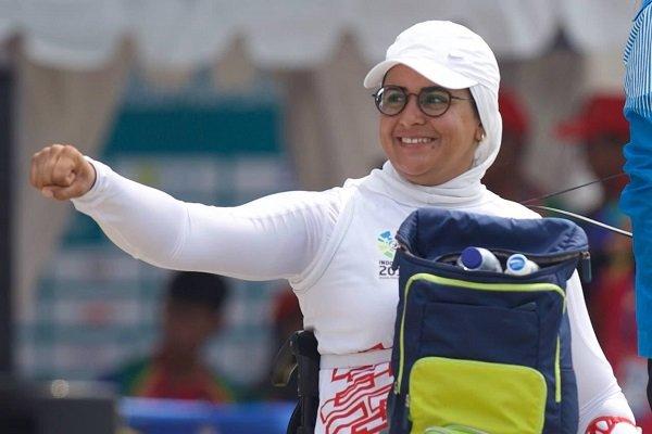 زهرا نعمتی در میان برترین کمانداران مسابقات جهانی هلند