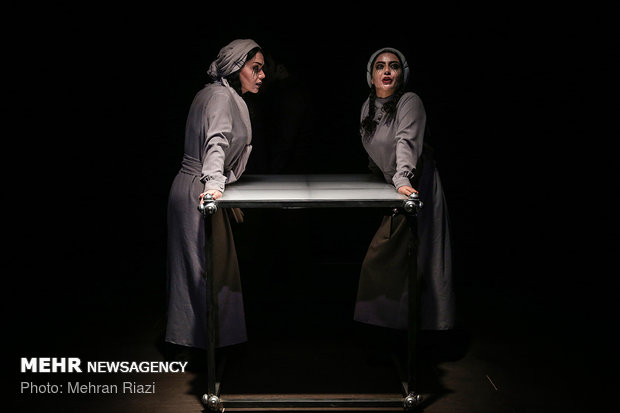 Staging 'recent experiences' underway in Mehrgan Theater Hall