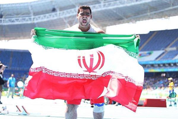 گزارش خبرنگار مهر از اندونزی؛ محمدیان با رکوردشکنی طلای پرتاب وزنه مردان را برگردن آویخت