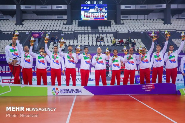Mehr News Agency - Iran sitting volleyball team claims Asian title
