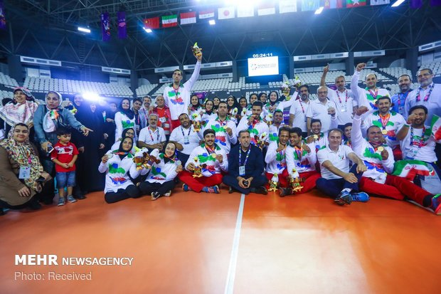 Iranian athletes shine at 2018 Asian Para Games