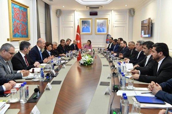 Iran, Turkey high-ranking delegations hold meeting in Ankara