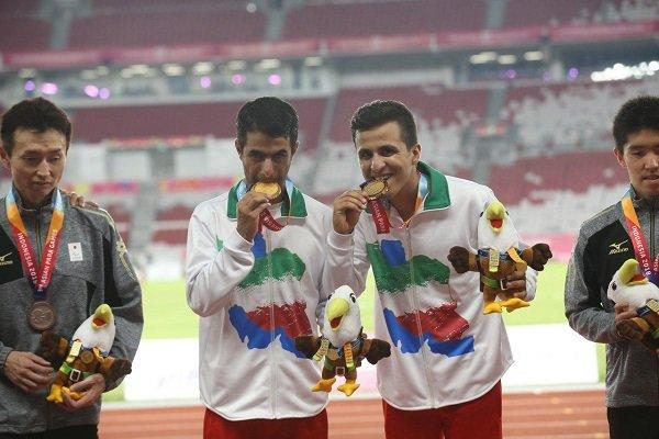 حمید اسلامی: مدالم را به رهبر عزیز انقلاب تقدیم میکنم