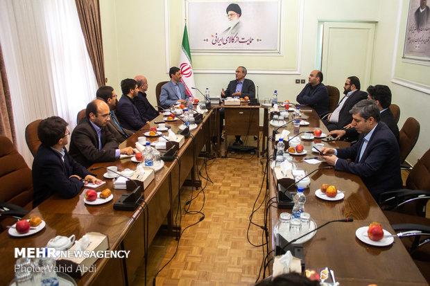 سفر پرویز فتاح رئیس کمیته امداد امام خمینی(ره) به تبریز