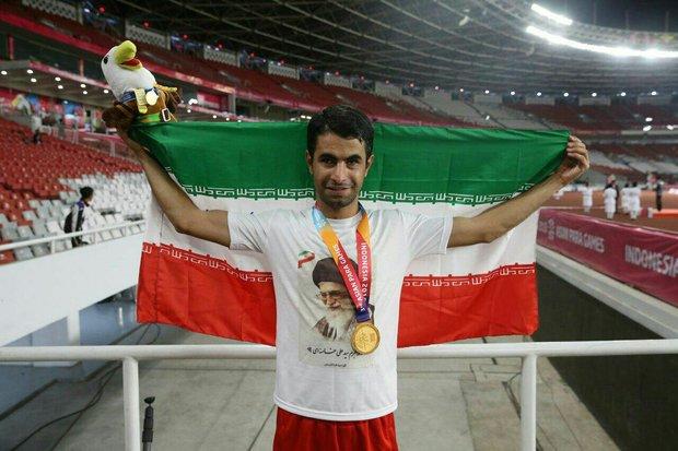دوندگان همدانی ۲ مدال طلای دیگر در بازیهای پاراآسیایی کسب کردند