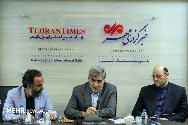 مراسم اختتامیه چهاردهمین نشست استانی خبرگزاری مهر