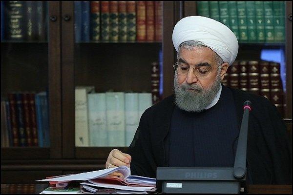 روحاني يقدم اسماء اربعة وزراء للبرلمان