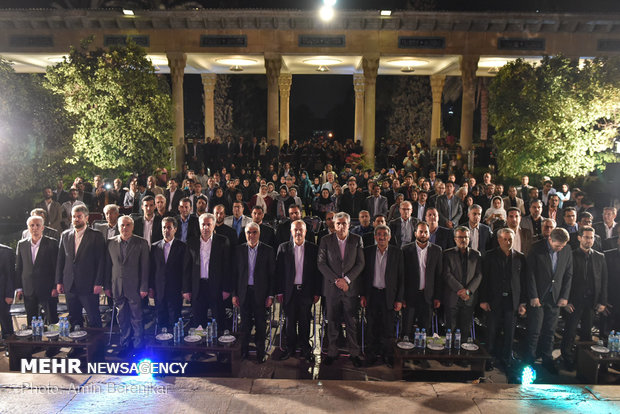 Commemoration of Hafez Day in Shiraz