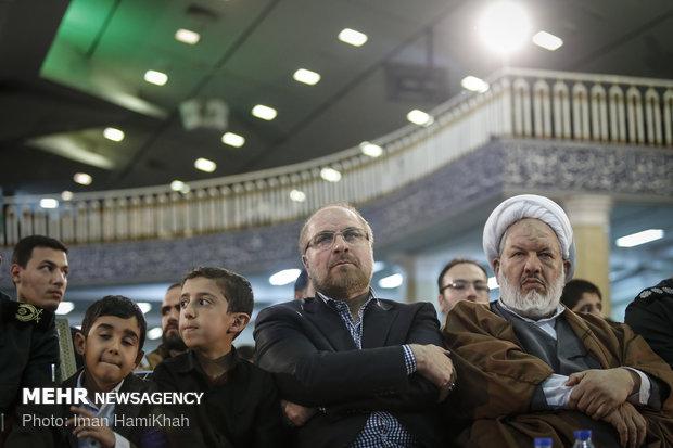 مراسم بزرگداشت شهید همدانی و شهدای مدافع حرم در همدان