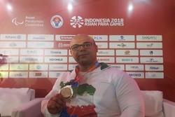 حامد صلحیپور: هدفم اول کسب مدال طلا و سپس رکوردشکنی بود
