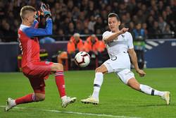 دیدار تیم های ملی فوتبال فرانسه و ایسلند