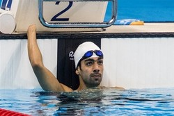 Iranian swimmer wins bronze at Asian Para Games