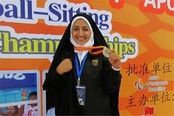 پایان رقابت های پرتاب وزنه بانوان بانوان/ کردستانی طلایی شد