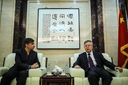 Çin'in Tahran Büyükelçisi'nden Mehr'e özel röportaj