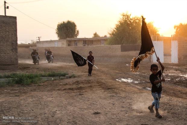 """قرية """"خليفة حيدر"""" تستضيف زوار كربلاء منذ 10 سنوات"""