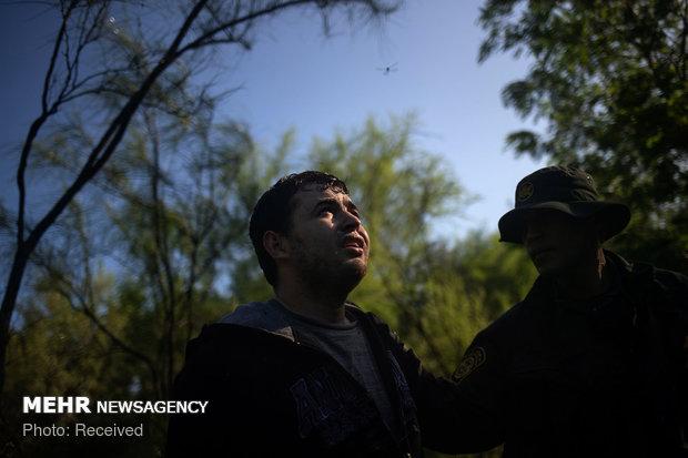 عبور غیر قانونی از مرز آمریکا و مکزیک