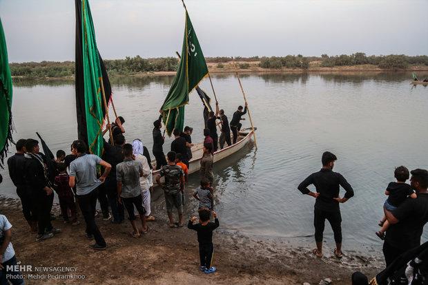 """قرية """"خليفة حيدر"""" تستضيف زوار كربلاء منذ 10 سنوات /صور"""