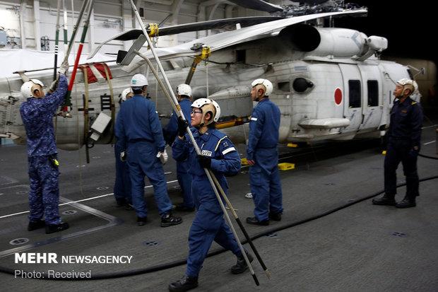 ملوانان زن نیروی دریایی ژاپن