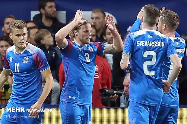 دیدار تیم های ملی فرانسه و ایسلند