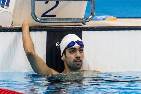 Iranian swimmer wins bronze at Asian Para Games