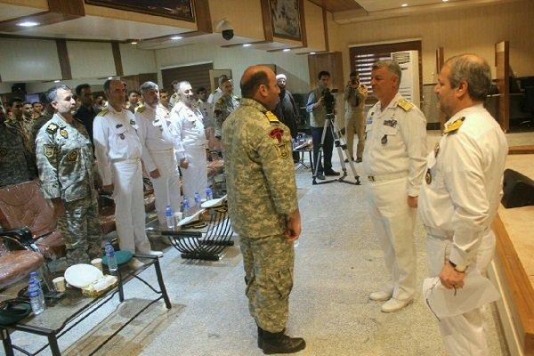 فرمانده جدید مرکز آموزش تکاوران نیروی دریایی معرفی شد