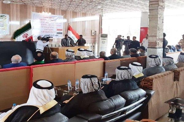 اجتماع وحدة بين شيوخ عشائر محافظة خوزستان والبصرة